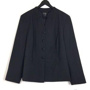 EMILY Lined Career Work Blazer Plus Size 22W